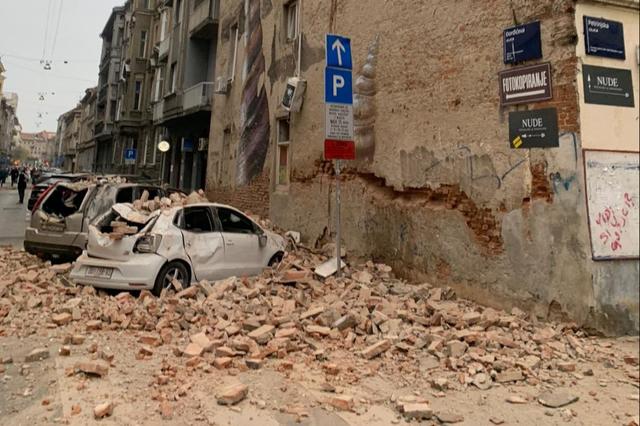 Ez közel volt: alig négyórányi autóútra Szegedtől 5,2-es erősségű földrengés rázta meg Horvátországot | Szeged365